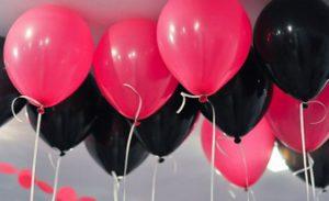 красивые воздушные шары 10 шт.