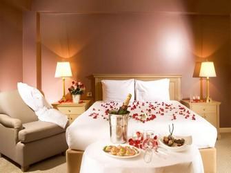 прекрасное свидание в отеле