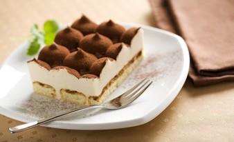 красивый десерт (пироженое)