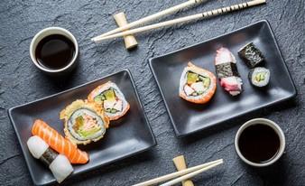 интересная посуда под суши