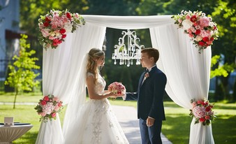 идеальная свадебная арка